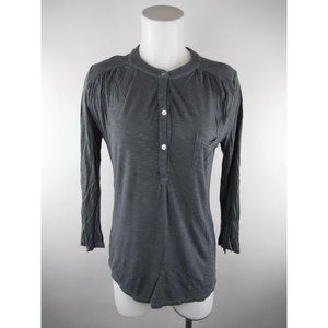 Young Fabulous & Broke S Ruched Pocket Henley Top